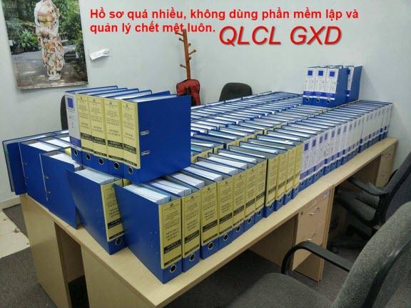 Hồ sơ chất lượng, hồ sơ nghiệm thu quá nhiều, dùng phần mềm QLCL GXD lập và quản lý sẽ nhẹ nhàng hơn